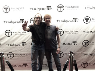 Shooting music video for forthcoming single with Martin Guigui at Thunder studios in Long Beach, CA.