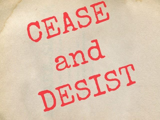 Use A Cease and Desist Letter in New York