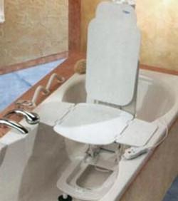 Электрическое кресло-подъёмник для ванной
