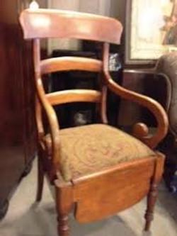 Commode - кресло-туалет старинное