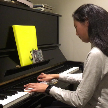 "A student playing ""Havana"" by Camila Cabello."