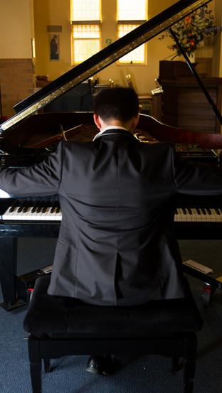 Schimmel Grand Piano - Courtesy of VMTA