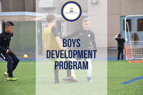 Boys' U8-U12 Development Training