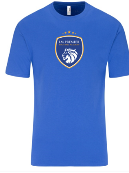 Adult LM Premier Blue T-Shirt