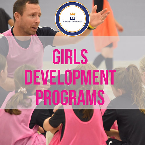 Girls' U8-U12 Development Training