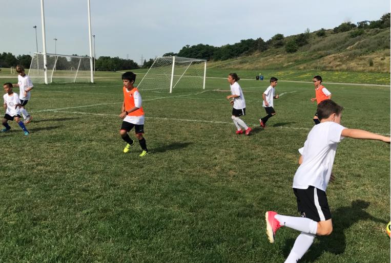 Centennial Park Soccer Summer Camp
