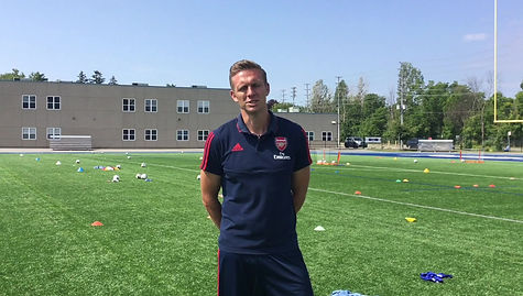 Tom Hartley Arsenal Women Football Club Development Officer.