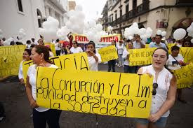 Veracruzanos Protestan fallo del Juez