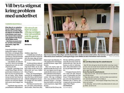 Borås Tidning, 8 mars 2021