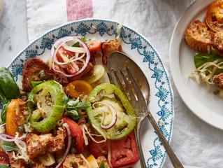Panzanella w Fennel, Apple & Dill Sauerkraut