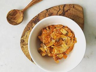 Kimchi Jjigae; quick & tasty Korean Kimchi stew