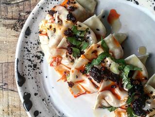 Vegan Kimchi Gyoza