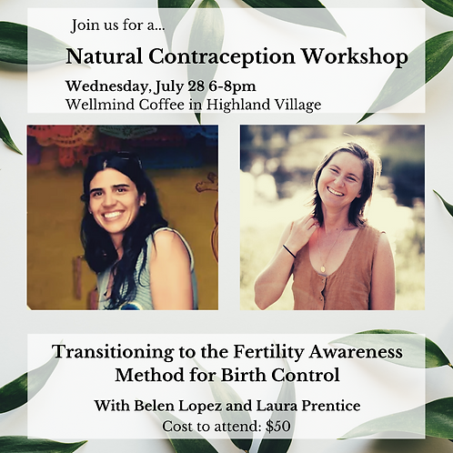 Natural Contraception Workshop on Fertility Awareness