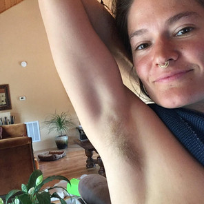 Armpit hair