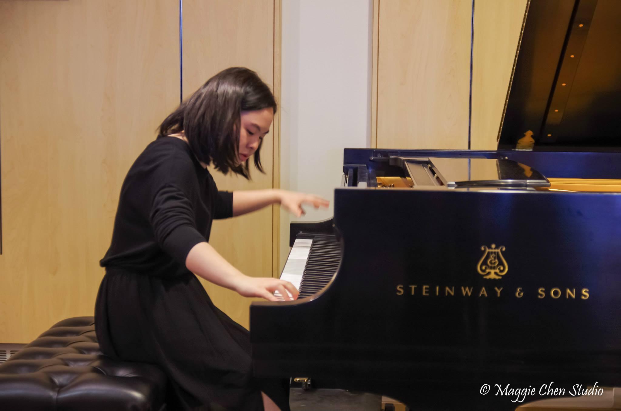 Maggie Chen cello piano Oak Brook