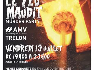 La MURDER PARTY à l'atelier du verre de TRELON