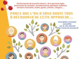 """Les Avesnoiseries au Forum sur le """"transgénérationnel""""(Hôpital d'Avesnes-sur-Helpe)"""