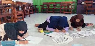 Pembinaan extra kaligrafi