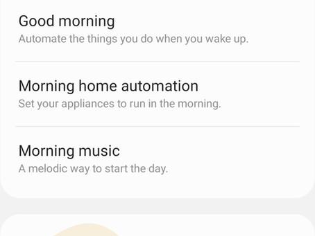 Samsung Bixby Can prepare you for a Good Night Sleep