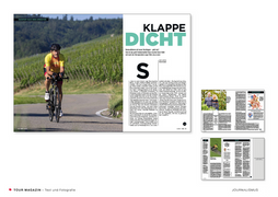 Feature Herz und Sport, TOUR-Magazin 2020