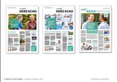 Redaktion und Text, Mediclin 2019 & 2020