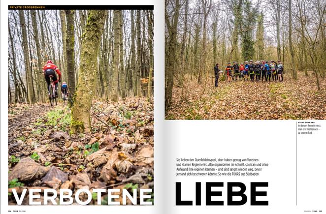 """Reportage, Text und Bild, """"Verbotene Liebe"""", TOUR-Magazin 2019"""