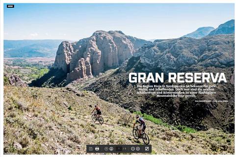 "Reise ""Gran Reserva"", BIKE-Magazin 2016"