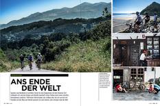 """Reise, """"Ans Ende de Welt"""", TOUR-Magazin 2015"""