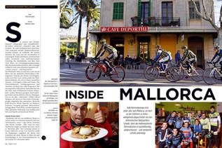 "Reportage ""Radsportler auf Mallorca"", TOUR Magazin 2014"