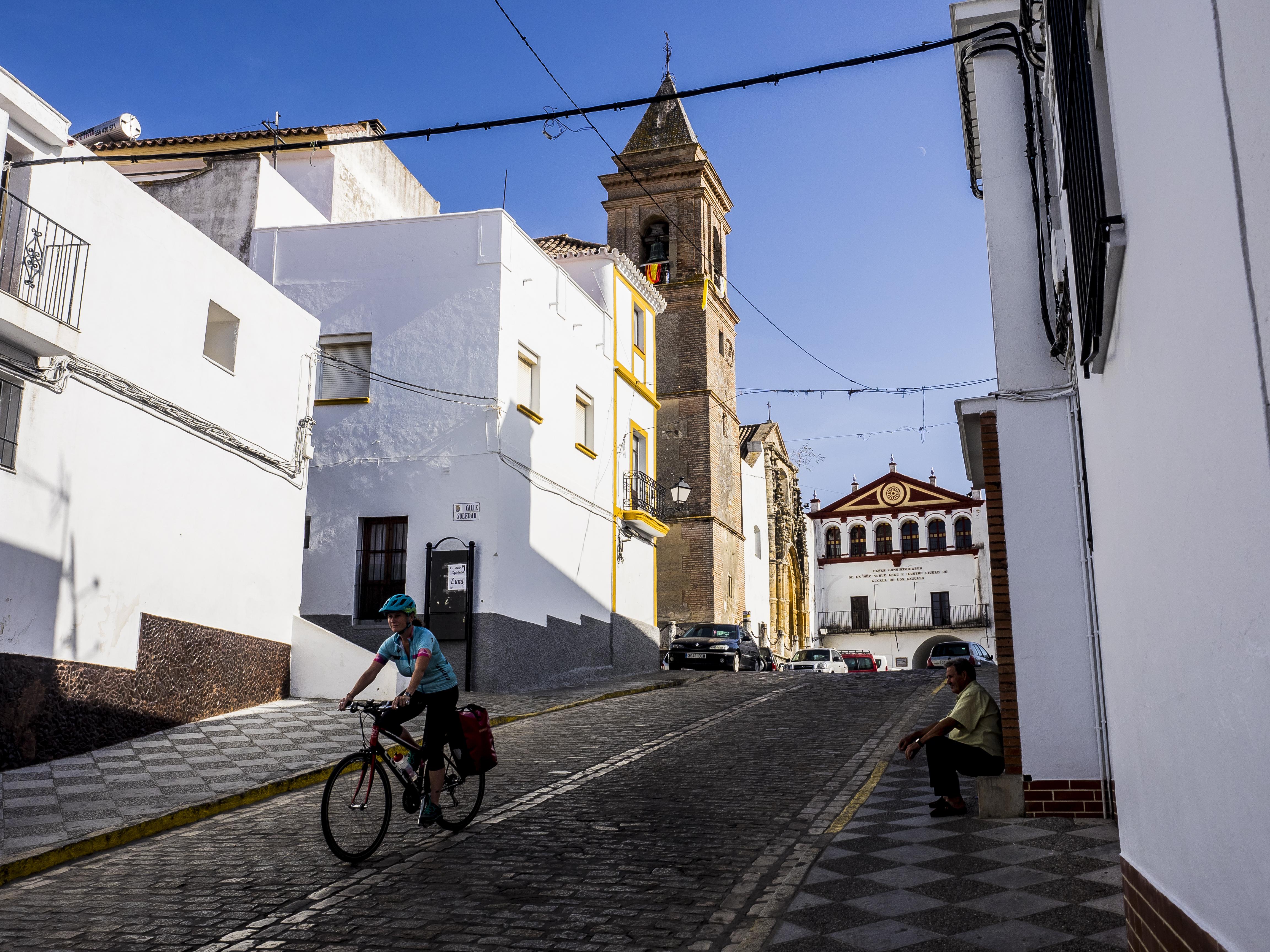 Alcala, white village in Andalucia