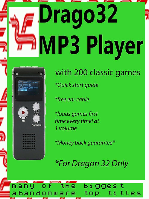 Drago32 - Dragon 32 - MP3 player with 200 great games not Coco SDC