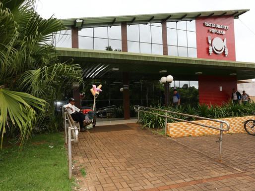 Seguindo medidas preventivas, Restaurante Popular retomará atendimentos na segunda-feira