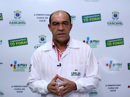 Médico Lísias de Araújo Tomé reforça respeito ao isolamento e uso de máscaras