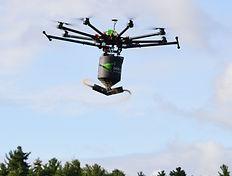 Imagerie aérienne professionnelle drone UAV Saguenay
