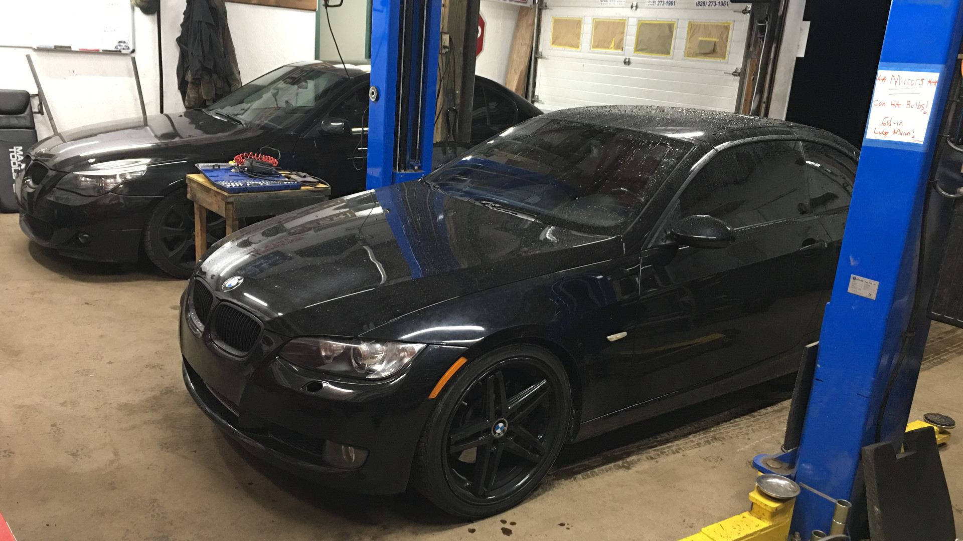 Black BMW cars in Empire Automotive