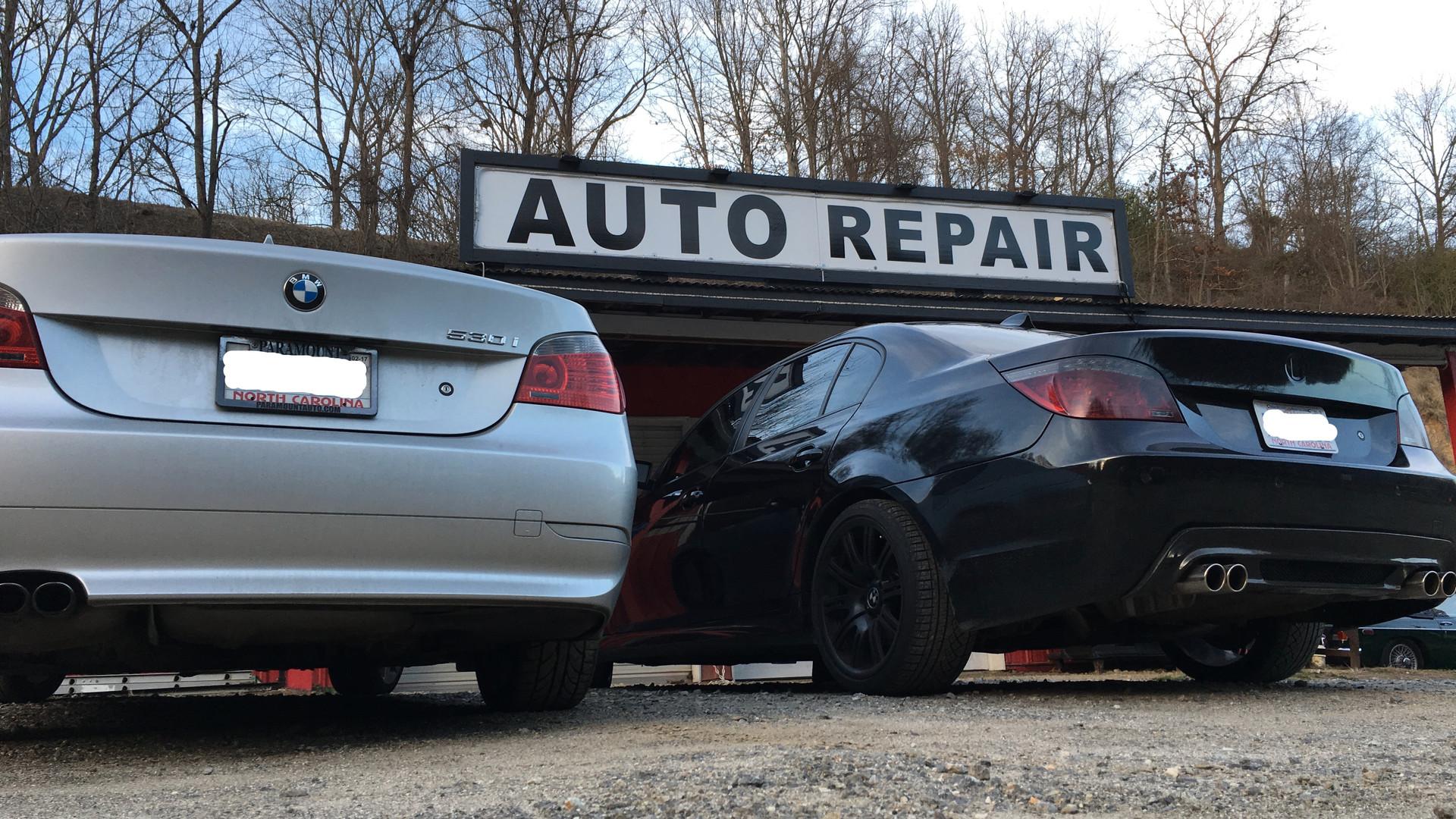 Empire Automotive Repair loves BMW's