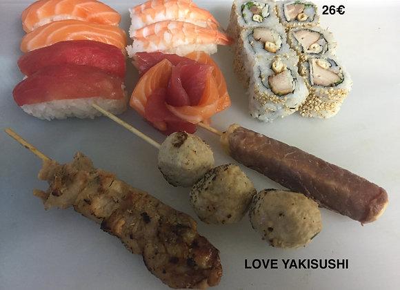 Menu Love Yakisushi