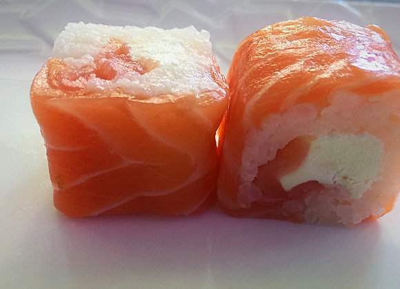 Salmon Roll Saumon Fumé Cheese x6