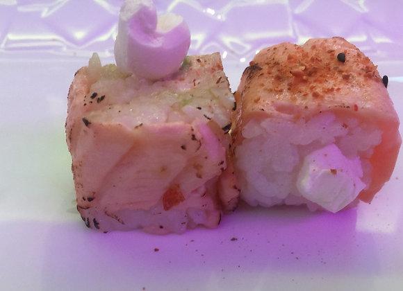 Tataki Salmon Rolls Cheese x6