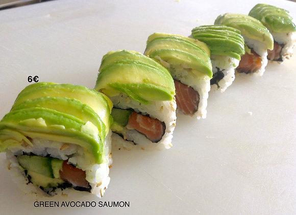 Green Avocado Saumon x6