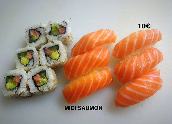 Menu Midi Saumon