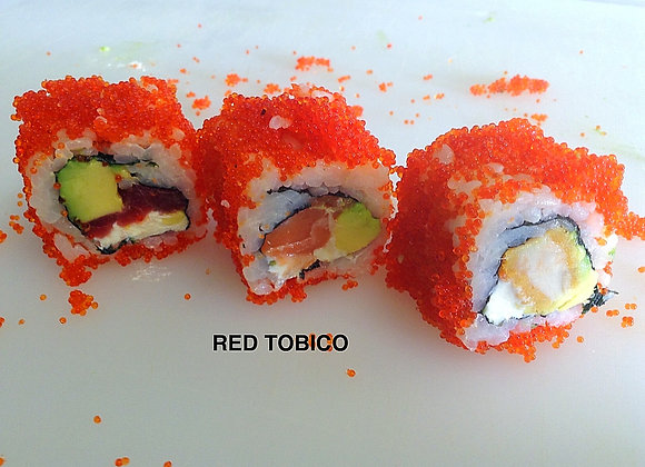 Red Tobiko Thon x6