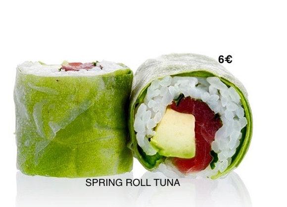 Spring Rolls Tuna x6