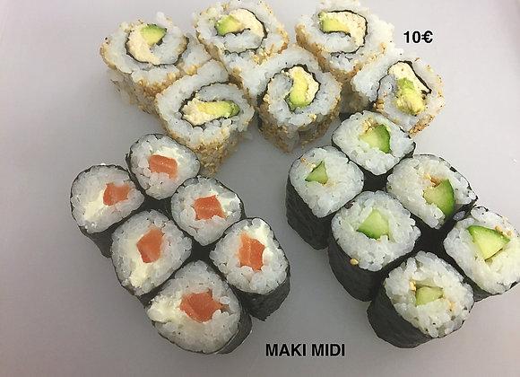 Menu Midi Maki