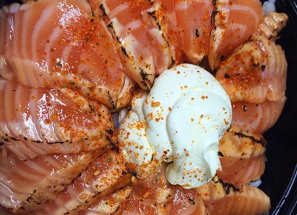 Chirashi Saumon Creamy Tataki Spicy x14