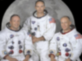 The Apollo 11 Prime Crew portrait
