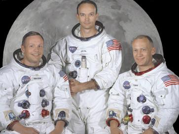The Apollo 11 Prime Crew portrait