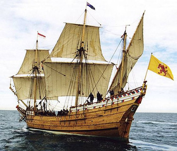 The Duyfken replica ship
