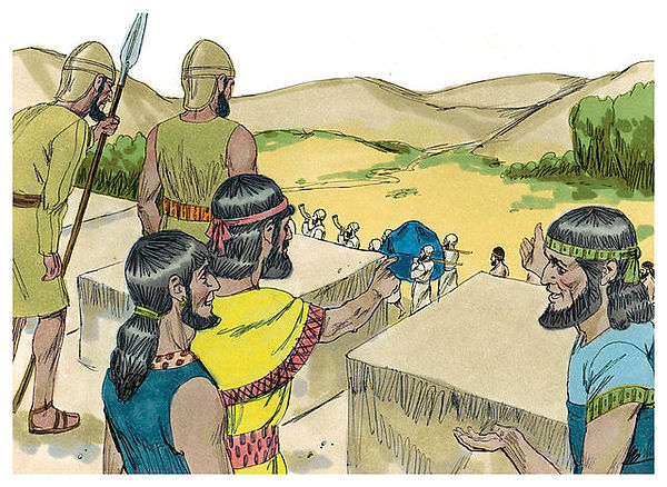 Looking Down from Jericho - History's Page