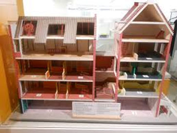 A model of the Anne Frank house